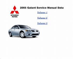 Mitsubishi Galant 2005 Service Manual Pdf