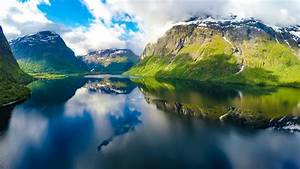 Aerial footage from Beautiful Nature Norway. Shot in 4K ...