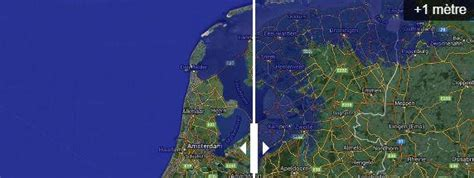 montee des eaux 2050 cartes neuf r 233 gions du monde menac 233 es en cas de mont 233 e du niveau de la mer