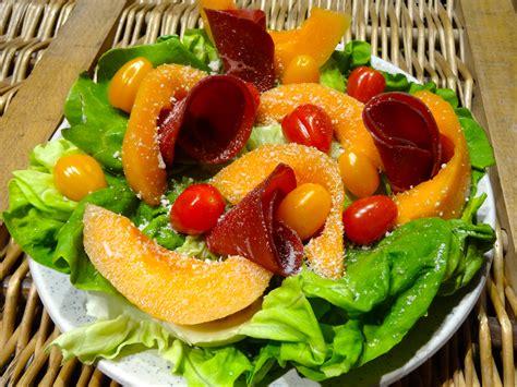 recette de salade de melon  litalienne dine move
