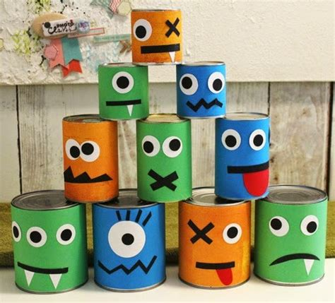recycling made easy recycled halloween crafts 17 old tin cans decorations