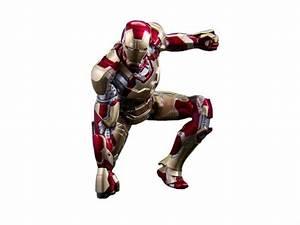 Iron Man 3: 1/9 Scale Iron Man Mark XLII Armor Figure