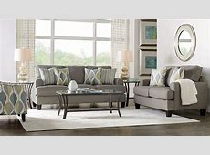 Cypress Gardens Gray 8 Pc Living Room Living Room Sets