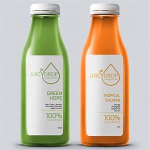 cool juice bottle label design product packaging contest With juice bottle label design