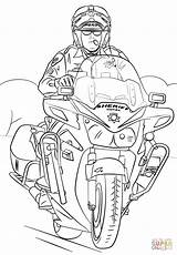 Coloring Motorcycle Sheriff Pages Swat Printable Officer Template Police Drawing Fbi Army Truck Paper London Templates Dot sketch template
