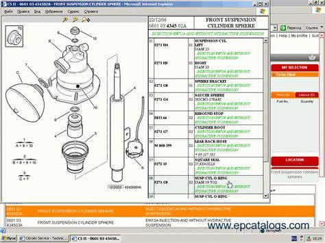 citroen service box parts  repair manuals