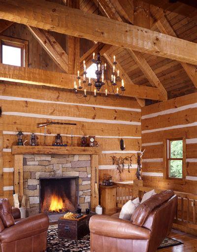 lakeside log cabin  walkout basement cozy homes life