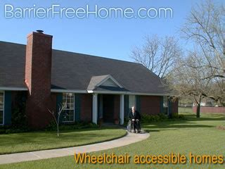 wheelchair accessible housing universal design homes