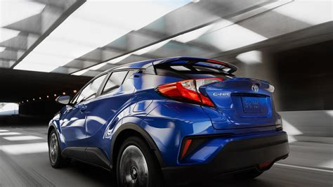 Toyota Chr Hybrid 4k Wallpapers by Toyota Ch R Blue Color 2018 2019 Hd Wallpaper And Images