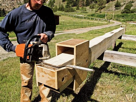 Build A Cabin With A Chainsaw » Design And Ideas