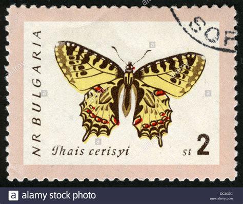 bulgariapost markstamppostage stampsbutterfly animals