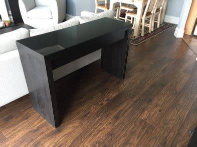 Vanity Table Ikea Ireland by Ikea Malm Dressing Table Sideboard Glass Top For Sale In