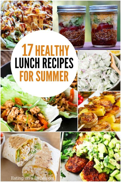 Healthy Lunch Recipes Summer Lunch Recipes You Can Make