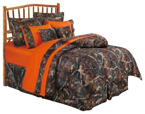 oak camo comforter set twin rustic comforters and