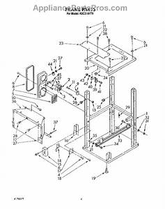 Whirlpool 4162448 Drawer Slide Kit For Trash Compactor