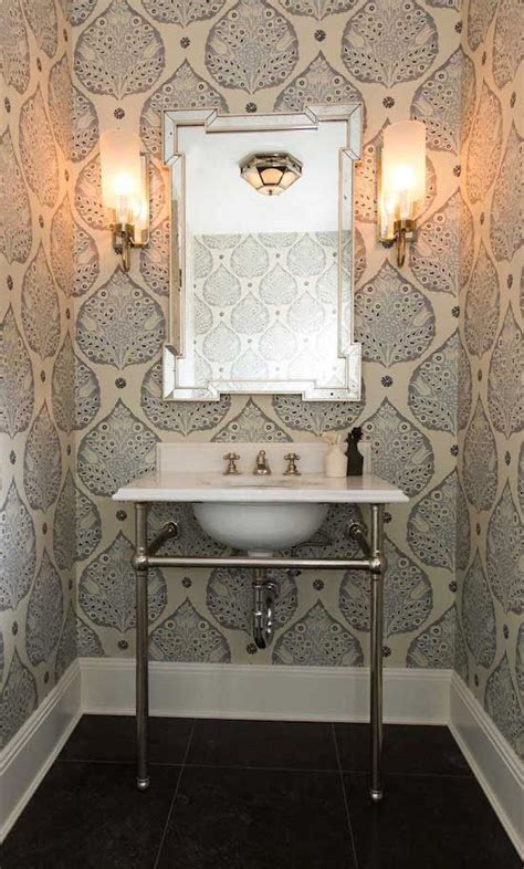wallpapered bathrooms ideas top 10 powder room wallpapers mcgrath ii