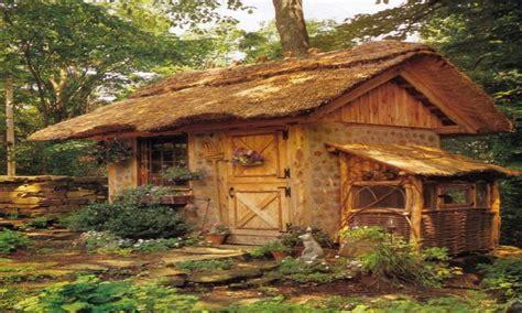 outdoor living sheds thatched roof shed build cottage treesranchcom