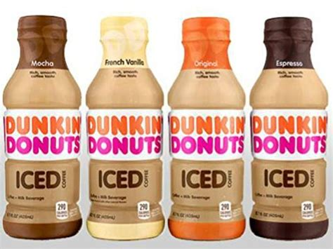 I sometimes use the seasonal flavors at dunkin' donuts as my only calendar. Dunkin Donuts Bottled Ice Coffee (4 Flavor Variety Pack ...