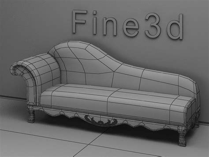 divan sofa    model max obj ds cgtradercom