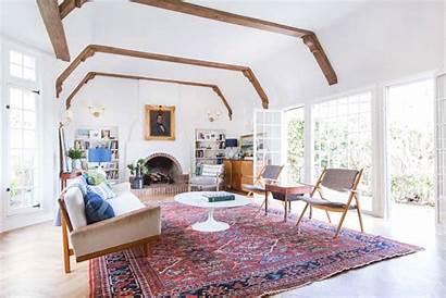 Beams Wood Living Refinished Naturally Livingroom Henderson
