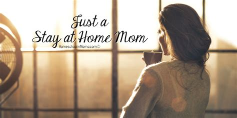 Just A Stay At Home Mom Homeschoolin Mama