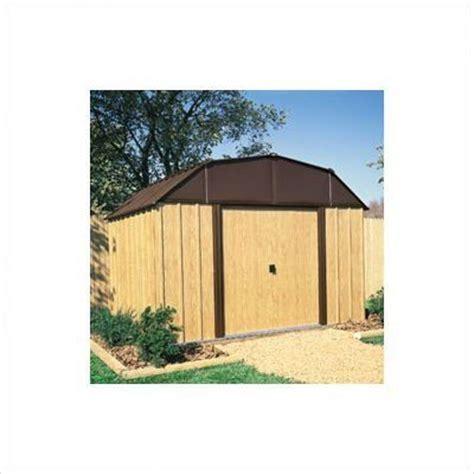 arrow wv108 woodview 10 feet by 8 feet steel storage shed
