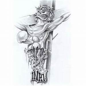 Inri jesus tattoo design - Tattoos Book - 65.000 Tattoos ...