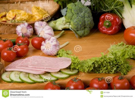 composition cuisine composition of food stock photo image 9111020