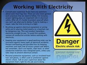 electrical safety powerpoint presentation With electrical safety training ppt