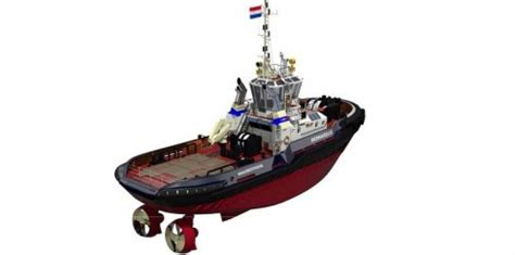 Tugboat Emissions by Damen Launches Its First Hybrid Tugboat Environment