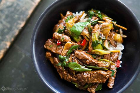 beef stir fry ginger beef stir fry recipe simplyrecipes com