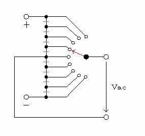 symbols multi way switch in circuitikz tex latex With 1 pole 4 way multi way switch symbols