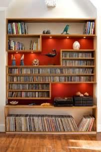 Vinyl Record Storage Shelves