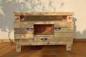 Acheter Meuble En Palette Bois : meubles en bois de palette meubles en bois de palette ~ Premium-room.com Idées de Décoration