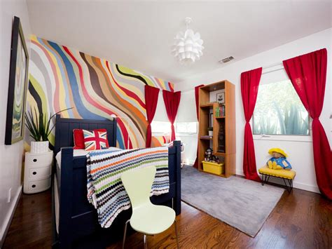 an eclectic colorful boy 39 s room room ideas for