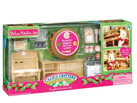 calico critters kitchen deluxe kitchen set calico critters