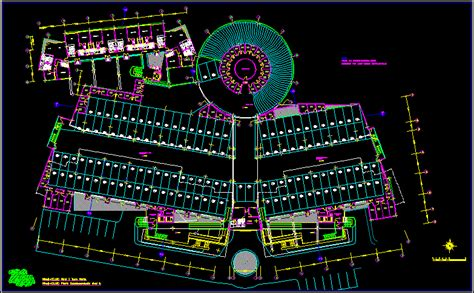 parking multifamily building  autocad cad  kb