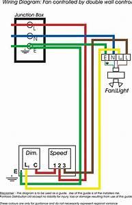 Ceiling Fan Wall Switch Wiring Diagram
