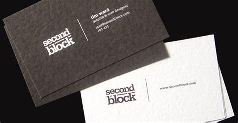 block business card inspiration cardfaves
