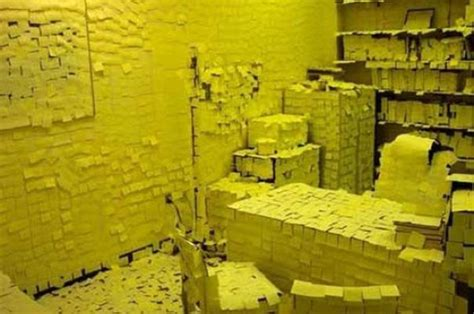 post it bureau pc these are the 23 meanest office pranks the last one is evil