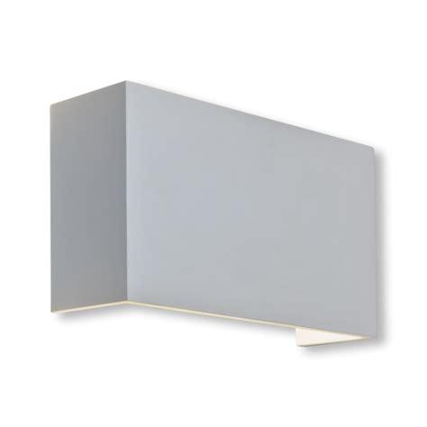 white plaster 60w e27 wall light