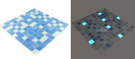 glow in the mosaic tiles by 5 companies make light of