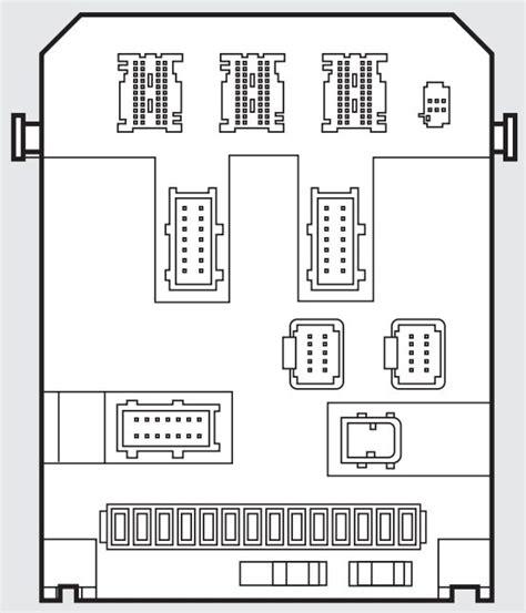 fiat scudo mk   fuse box diagram auto genius