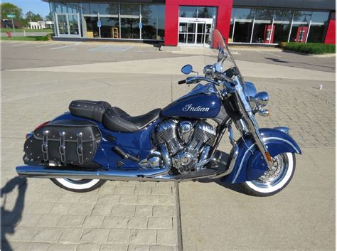 2014 Indian Chief Classic Springfield Blue Motorcycles For