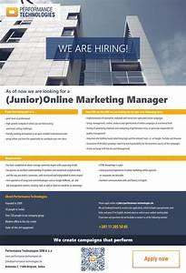 Junior Online Marketing Manager : junior online marketing manager performance ~ Eleganceandgraceweddings.com Haus und Dekorationen