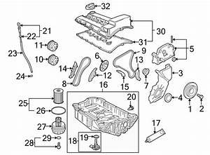 Porsche Cayenne Engine Valve Cover  3 6 Liter  3 6 Liter