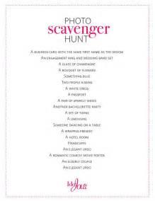Scavenger Hunt Party