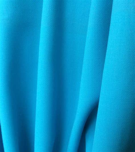 tissu au metre crepe de pour rideaux turquoise vente de tissus au metre ventedetissus