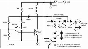 9 Volt Geiger Counter Power Supply - Power Supply Circuit - Circuit Diagram