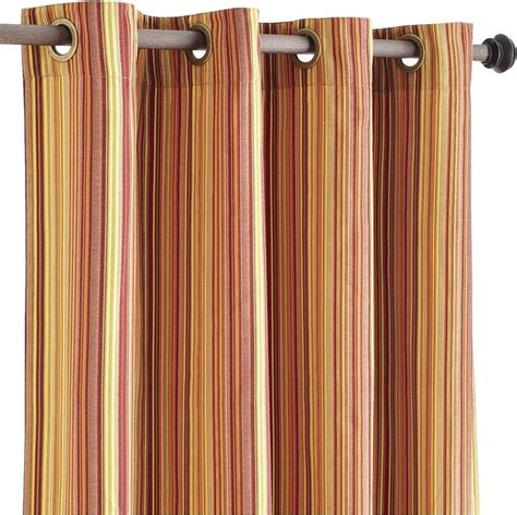 Pier One Curtains Panels pallas stripe window panel contemporary curtains by